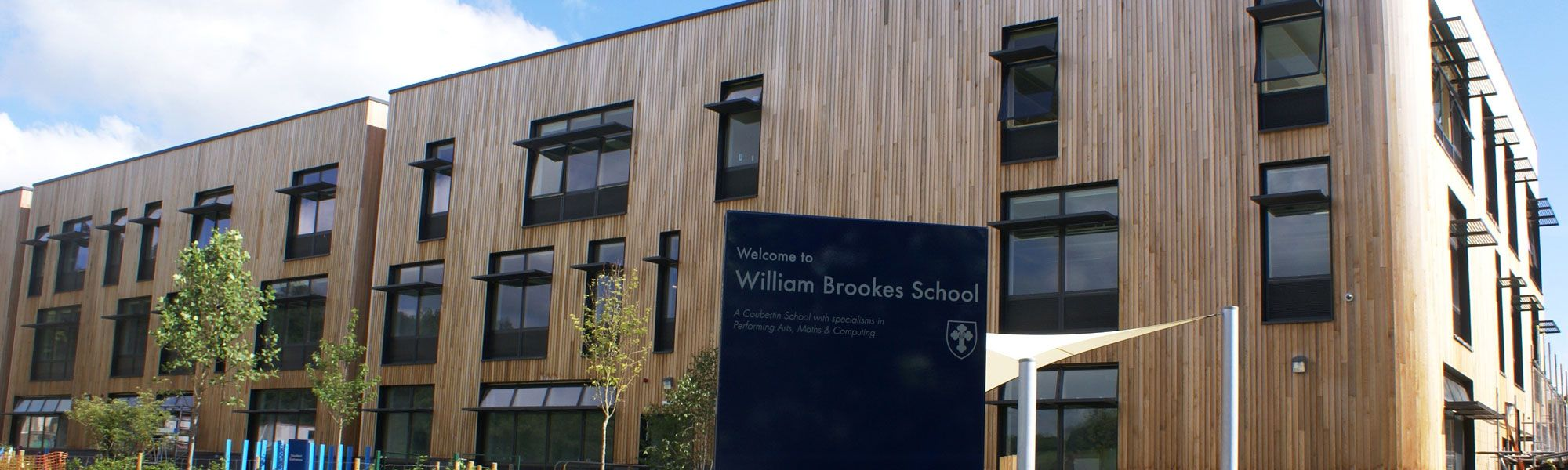 Students and facilities at William Brookes School in Much Wenlock, Shropshire