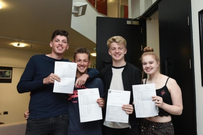 Celebrations as students achieve outstanding GCSE results