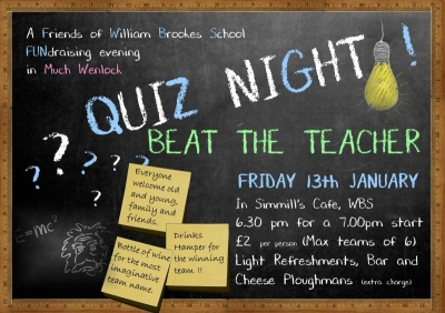 FoWBS Quiz Night Challenge the Teachers