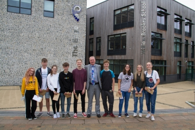 William Brookes School celebrate A Level Results