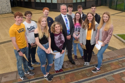 William Brookes School students celebrate excellent A Level exam results
